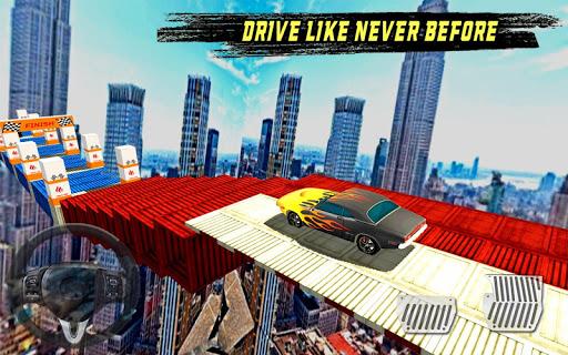 extreme limo mega ramp - car driving games 3d screenshot 3
