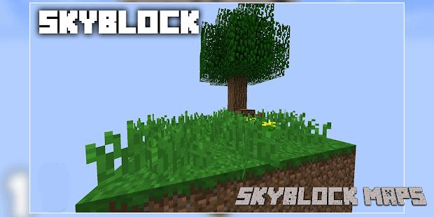 New Sky block Maps - Island Survival