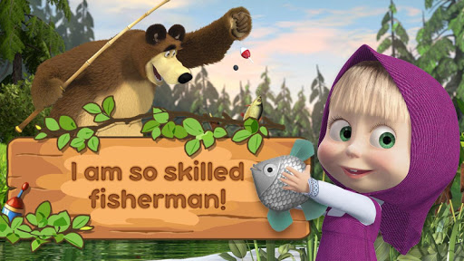 Masha and the Bear: Kids Fishing  screenshots 11