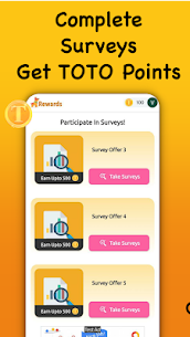 TOTO Rewards – Win Free Diamonds, Gift Cards, Cash 3