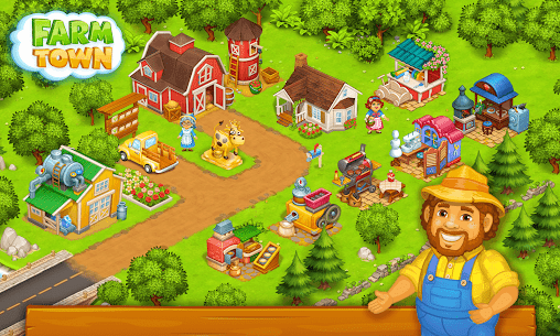 Farm Town Mod Apk: Happy farming Day (Unlimited Gold) Download 6