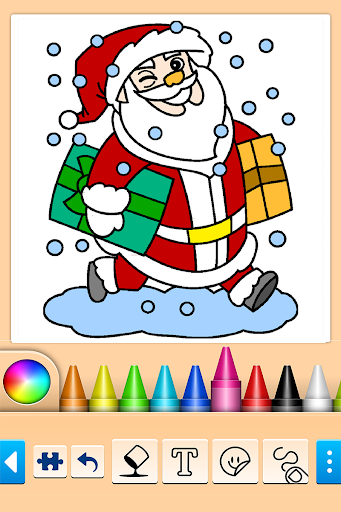 🎅Christmas Coloring modiapk screenshots 1