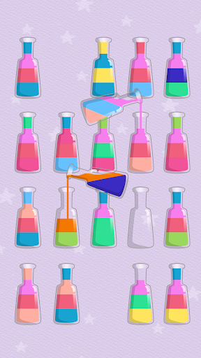 SortPuz - Water Sort Color - Sorting Game apktreat screenshots 2