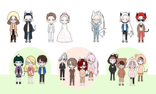 My Webtoon Character - K-pop IDOL avatar maker 2.9.1 screenshots 8