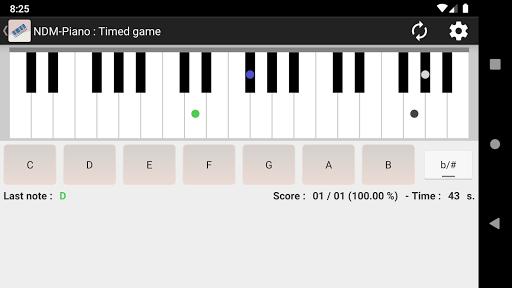 NDM - Piano (Learning to read musical notation) modiapk screenshots 1