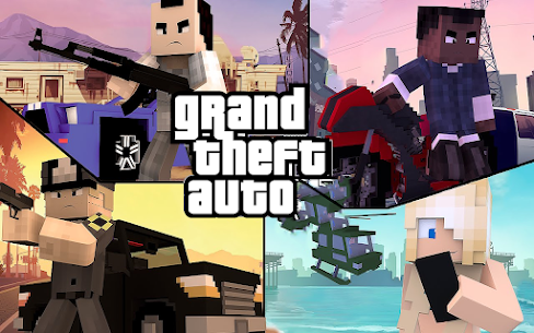 Craft Theft Auto for GTA Minecraft 2021 1