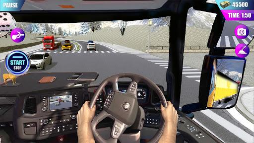 American Truck Driver Simulator- Cargo Truck Game  screenshots 12