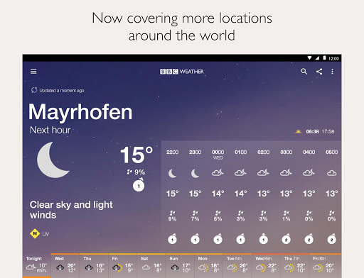 BBC Weather  Screenshots 12