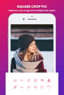 Grid Photo Maker for Instagram 9 Grid Giant Square 2.7 Screenshots 5