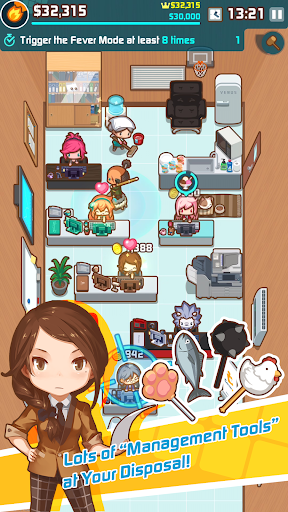 OH~! My Office - Boss Simulation Game 1.5.7 screenshots 2