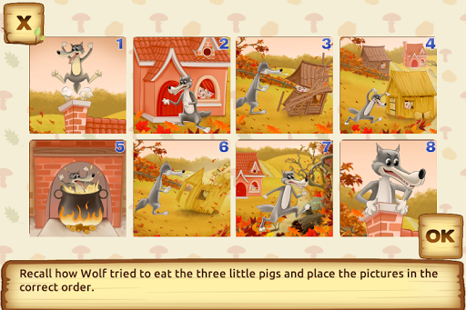 Three Little Pigs - Fairy Tale with Games apkdebit screenshots 5