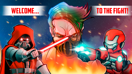 Superheroes League - Free fighting games 2.1 screenshots 15