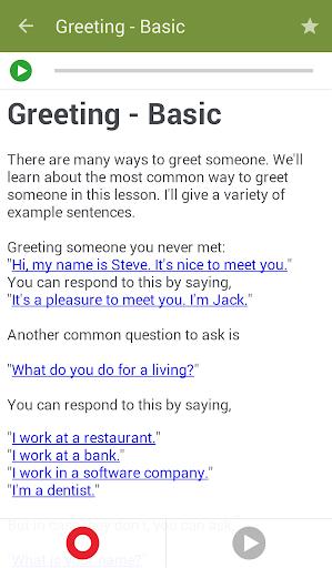 Learn to Speak English 2.4.8 Screenshots 3