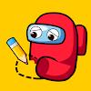 DIP: Draw Impostor Puzzle - 한 부문 그리기 대표 아이콘 :: 게볼루션
