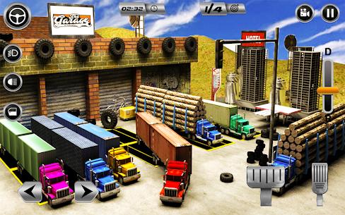 Euro Long Trailer Truck Sim 2019: Cargo Transport 1
