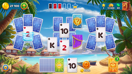 Solitaire Cruise Game: Classic Tripeaks Card Games apkpoly screenshots 6