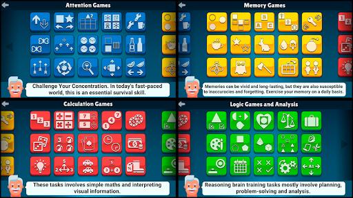 60 Brain Games: Free Mental Training!  screenshots 2