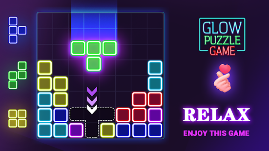 Glow Block Puzzle Screenshot