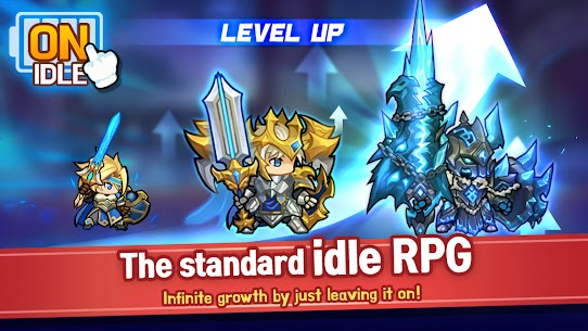 Raid the Dungeon : Idle RPG Heroes AFK or Tap Tap Mod Apk (Mod Menu) 10