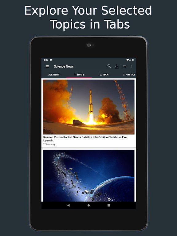 Science News Daily: Science Articles and News App  poster 16