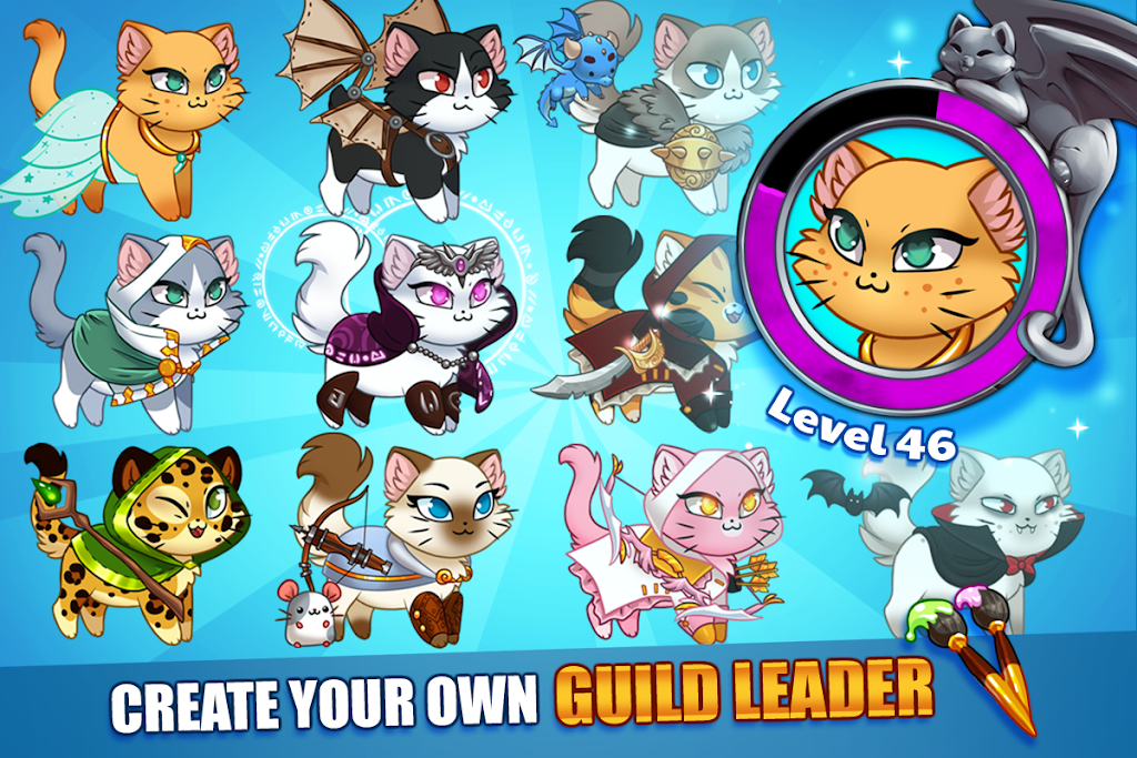 Castle Cats - Idle Hero RPG poster 9