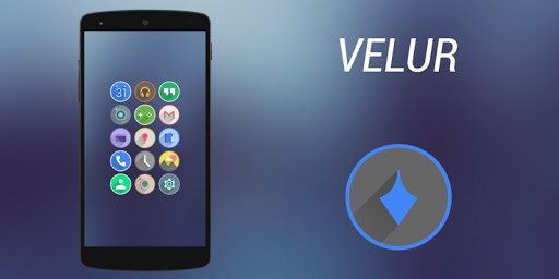 Velur - Icon Pack  screenshots 9