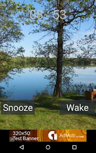 Woodland Alarm Clock