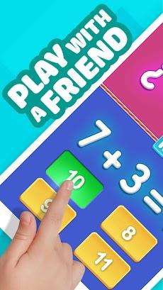 数学ゲーム–2プレイヤークール数学学習ゲームのおすすめ画像1