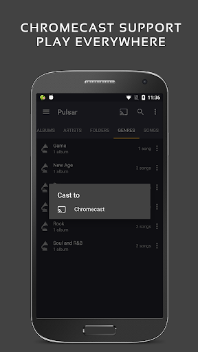 Pulsar Music Player - Mp3 Player, Audio Player 1.10.1 screenshots 7