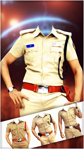 Police Photo Suit 2021 : Women & Men Police Suit  screenshots 1
