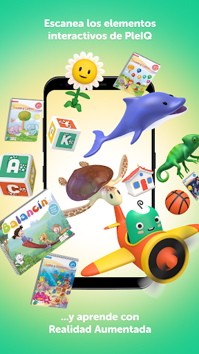 PleIQ - Recurso Educativo con Realidad Aumentada apkdebit screenshots 1