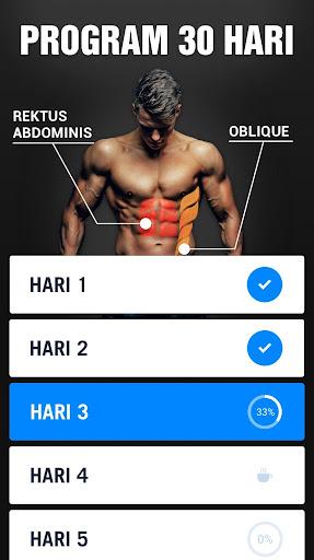 Sixpack dalam 30 Hari – Latihan Otot Perut