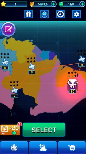 Galaxy Strike B52: Space Shooter War Defense 1945. 14 screenshots 4