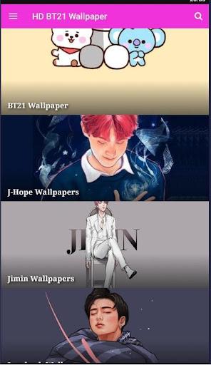 Cute BT21 Wallpapers For B T S  Screenshots 1