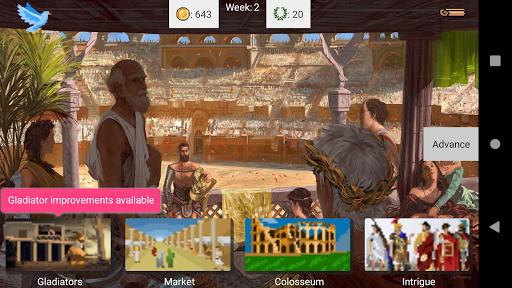 Gladiator manager 1.14.5 screenshots 1