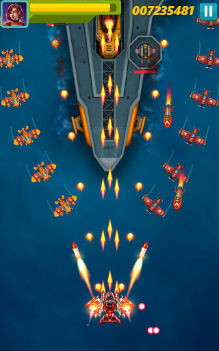 Sky Raptor: Space Shooter - Alien Galaxy Attack apkmr screenshots 17