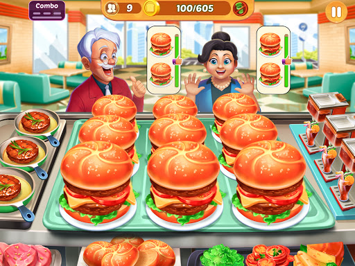 Cooking Crush: New Free Cooking Games Madness Apkfinish screenshots 9