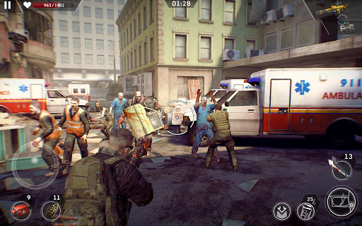 Left to Survive: Dead Zombie Shooter & Apocalypse  screenshots 8