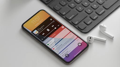 Lock Screen & Notification iOS14 android2mod screenshots 9
