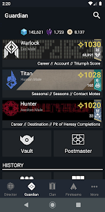 Destiny 2 Companion Mod 14.3.1 Apk [Unlimited Money] 3