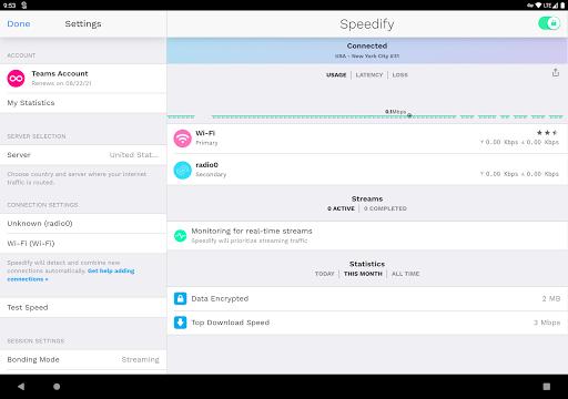 Speedify - The VPN for Live Streaming apktram screenshots 5