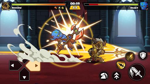 Brawl Fighter - Super Warriors Fighting Game  screenshots 6