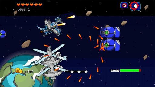 Black Pterosaur Attack - Robot Toy War 2.4 screenshots 2