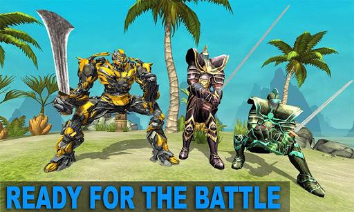 Télécharger Sword Robot Fighting Game: Sword Robot Hero mod apk screenshots 4