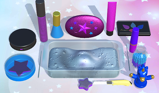 DIY Makeup Slime Maker! Super Slime Simulations 2.1 screenshots 9
