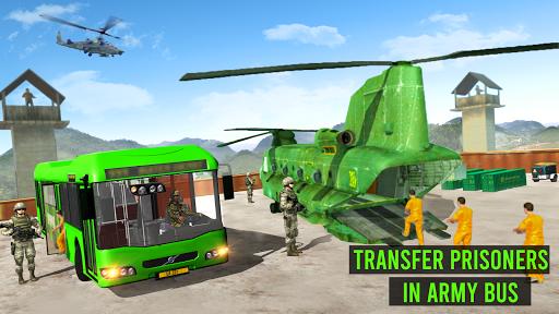 Army Bus Driver – US Military Coach Simulator 3D screenshots 1
