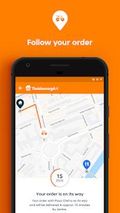 Thuisbezorgd.nl-オンラインで食べ物を注文する