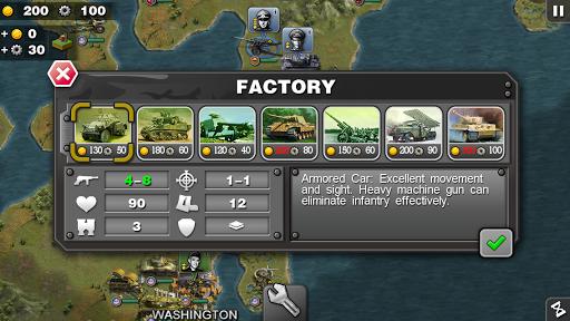 Glory of Generals-WW2 frontline War Strategy Game 1.2.12 Screenshots 14