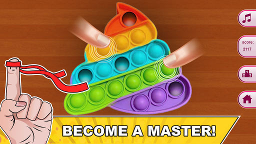 Pop it Master - antistress toys calm games  screenshots 11