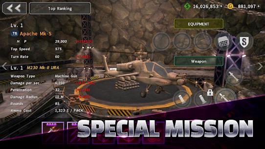 Gunship Battle MOD APK (Unlimited Money/Gold) 3